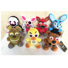 """NEW Five Nights at Freddy's FNAF Horror Game Plush Dolls Kids Plushie Toy 6-7"""""""