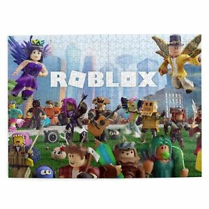 Roblox 300/500/1000 Pieces Wood Jigsaw Education Puzzle Game for Kids DIY Gift