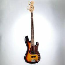 J & D E-Bass, Bass Gitarre mit 4 Saiten und Linde Korpus, JB Bass mit Split-Coil