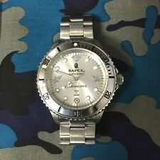 Extremely Rare BAPEX Submariner BIG FACE Bapesta Automatic Watch A BATHING APE