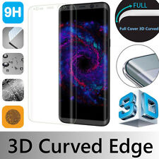SAMSUNG GALAXY S8 PLUS FULL COVER CURVED GORILLA TEMPERED GLASS SCREEN PROTECTOR