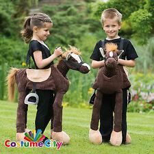 CHILDS Paseo en jugar Pony Western Cowboy Caballero Caballo Fiesta De Disfraces Disfraz