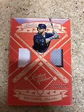 2019 Leather And Lumber Dual Jersey Eric Thames #156/349