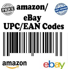 15 Unit  UPC EAN Codes Certified Numbers Barcodes For Amazon