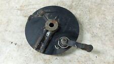84 Husqvarna 400 WR 400WR rear back brake hub drum plate