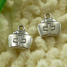 free ship 55 pieces tibetan silver medicine cabinet charms 13x12mm #2963