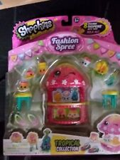 New Shopkins Fashion Spree Tropical Collection Hula Hut 8 Exclusive