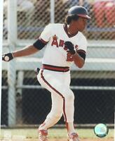 ROD CAREW CALIFORNIA ANGELS UNSIGNED 8X10 PHOTO