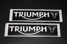 #346 Triumph Motorrad Bike Moto GP Aufkleber Sticker Decal Autocollant Bapperl