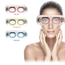 3 Colors LED Photon Spectrum Hot Triple Therapy Eye Care Skin Lifting Mask Home