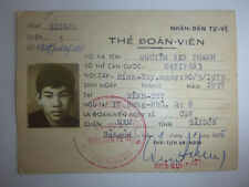 ID CARD - Saigon District Militia - Quan 8 - BINH THUY - 1975 Vietnam War - 4280
