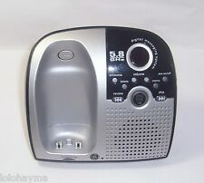 ge 25899ge3-a 5.8 ghz cordless phone main base with answering machine