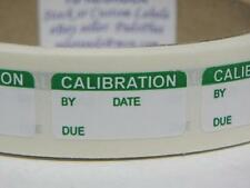 CALIBRATION tiny 1/2x1 Sticker Label Permanent Adhesive 250/rl
