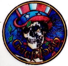 3 ULTRA RARE  GRATEFUL DEAD  'SKULL & TOP HAT'  TEMPORARY TATTOOS .. LICENSED