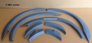 FORD TRANSIT SPORT ST style WHEEL ARCHES SET WING TRIMS  MK7 (06-13) EASY TO FIT