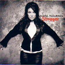 CD Hanna Pakarinen Stronger, Eurovision,  2005 Finland