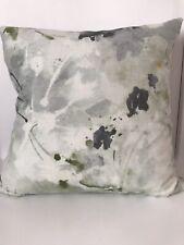 John Lewis Watercolour Linen Velvet Style Handmade Cushion Herbert Parkinson