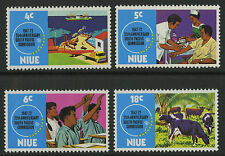 Niue  1972   Scott #   151-154     Mint Never Hinged Set