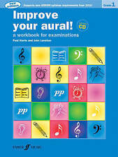 Improve Your Aural! Grade 1: A Workbook for Examinations, Book & CD (Faber Editi
