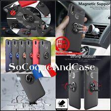 Coque housse magnétique Finger Ring Kickstand Case Samsung Galaxy A10s A20s