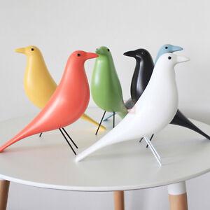 Retro VITRA EAMES House Bird Pigeon Dove Desk Ornament Resin Home Office Decor