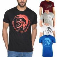 DIESEL T HEAD PS Mens T-Shirt Short Sleeve Crew Neck Casual Summer Cotton Tee
