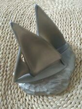 "50s Sailboat Art Piece 5 3/8"" Tall/Paperweight, Bookend, Door Stop/Nickel Finish"