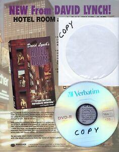 DAVID LYNCH HOTEL ROOM PROMOTIONAL AD +