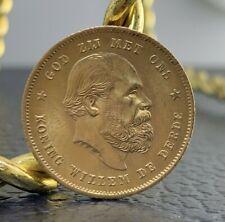 1876 Netherlands 10 Guilder Gold Coin
