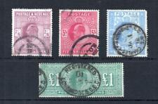 EDWARD VII HIGH VALUES 2/6 - £1 (FAULTS)