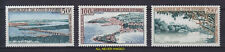 1963 COTE D'IVOIRE IVORY COAST AIR POST BRIDGES LANDSCAPES NEVER H SCT.C22-C24