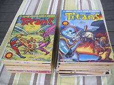 Lot Titans editions LUG en assez bon état