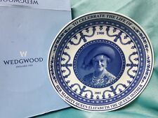 Wedgwood limited edition commemorative plate. The Queen Mother. 1900-2002.