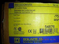 Square D DC Control Relay    8501XDO80V53