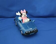 "Disney ""Minnie In Bwm Bimmer Porcelain Music Box� By Schmid"