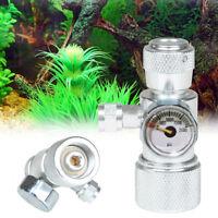 CO2 Cylinder Needle Valve Bubble Counter for Plant Aquarium Regulator Diffuser