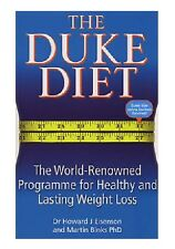 DR HOWARD J EISENSON __ THE DUKE DIET ___ SHOP SOILED ___ FREEPOST UK