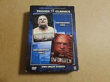 Tagged Classics Unforgiven 2002 2003 02 03 Dvd Wrestling Wwf Wwe