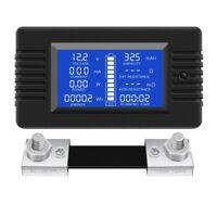 DC Multi Funktions Batterie Monitor Meter LCD Display Digitalen Strom Spann C3D8