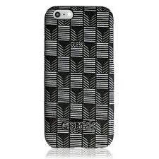 Premium Façade étui rigide étui de protection Guess iPhone 6 6S Jet Set Noir