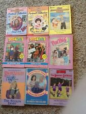 9 Lot - Babysitters Club, Sweet Valley High,  Boxcar Children PB & HB Books