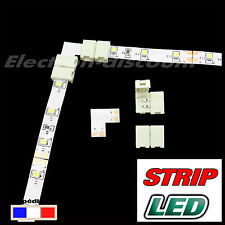 connecteur  angle droit sans soudure  pour strip LED 3528 ou 2835  - ruban LED