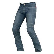 DRIRIDER Rapid Womens Ladies Jeans Motorcycle Pants Blue Denim Size 16
