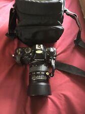 Nikon N2020 35mm SLR Film Camera With Extras Travel Bag