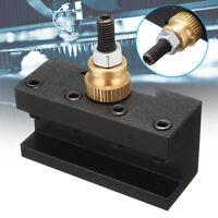 Mini Lathe Quick change 1x Grooving Cut Off Tool 49x40x20MM Cylindrical Holder