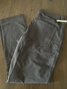 SwetTailor Swet Tailor Duo Pants ABC Slim Mens 33x30 Large Grey New Lululemon