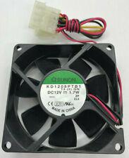 Sunon KD1208PTB1 80mm 4-Pin Computer Case Cooling Fan