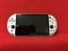 USED PlayStation Vita Wi-Fi model silver (PCH-2000ZA25) only console  F/S Japan