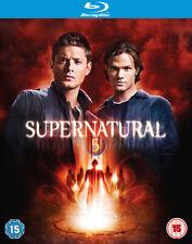 Supernatural - Complete Season 5 [2010] (Blu-ray) Jared Padalecki