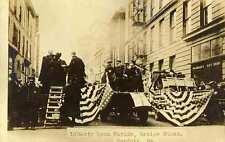 1918 NORFOLK VA Liberty Loan Parade Review Stand RPPC REAL PHOTO postcard